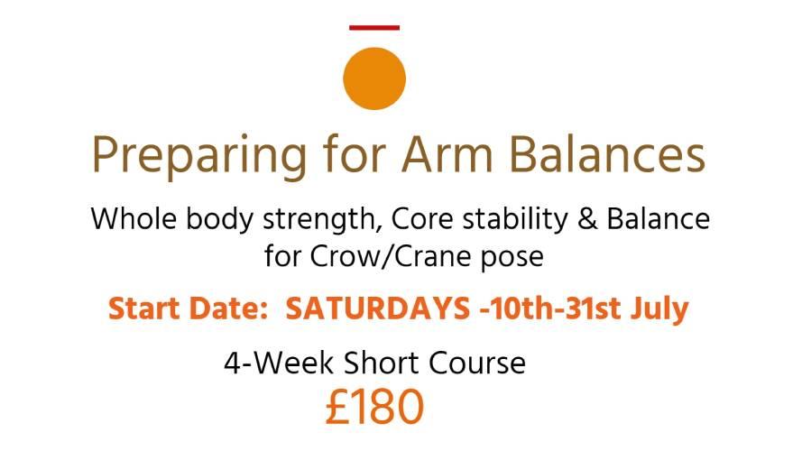 Preparing for Arm Balances